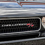 2011 Dodge Challenger Rt Black Art Print