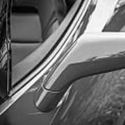 2014 Chevrolet Corvette C7 Bw   Art Print
