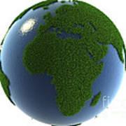 A Greener Earth Art Print