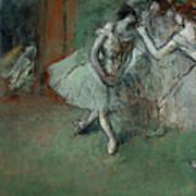 A Group Of Dancers Art Print