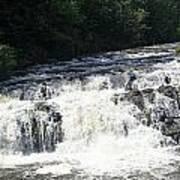 A Lovely View Of A Falls On Kayaderosseras Creek Art Print