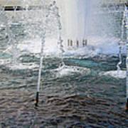 A World War Fountain Art Print
