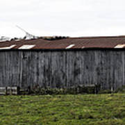 Abandoned Barn Kentucky Usa Art Print