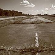 Abandoned Route 66 Art Print