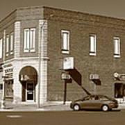 Abilene Kansas - 2nd And Broadway Art Print