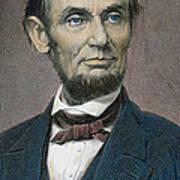 Abraham Lincoln Art Print by American School