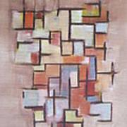 Abstract Line Series  Art Print