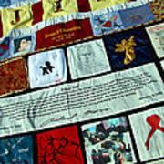 Aids Quilt -- 1 Art Print
