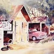 Al's Auto Shop Art Print