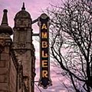 Ambler Theater Art Print