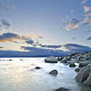 An Evening At Tahoe Art Print