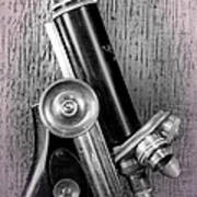 Antique Microscope Art Print