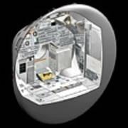 Apollo Command Module Art Print