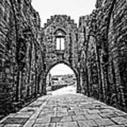 Arbroath Abbey Art Print