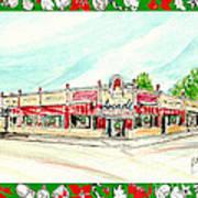 Arcade Restaurant Memphis Art Print