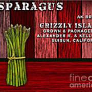 Asparagus Farm Art Print