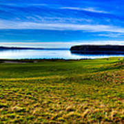#2 At Chambers Bay Golf Course - Location Of The 2015 U.s. Open Tournament Art Print by David Patterson