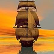 At Full Sail Art Print