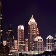 Atlanta From Above Art Print