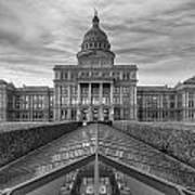 Austin Images - The Texas State Capitol At Sunrise Looking South Art Print