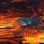 Awe Inspiring Sunset Art Print