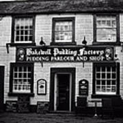 Bakewell  Pudding Factory In The Peak District - England Art Print