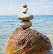 Balanced Art Print