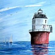 Baltimore Lighthouse  Art Print