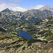 Banderishki Lakes Pirin National Park Bulgaria Art Print