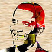 Barack Obama Art Print by Marvin Blaine