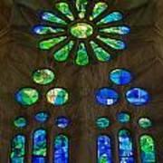 Basilica Sagrada Familia Art Print