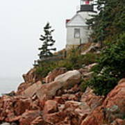 Bass Harbor Head Light Art Print