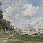 Bassin D'argenteuil Art Print