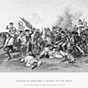 Battle Of Camden, 1780 Art Print