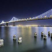Bay Bridge In San Francisco Art Print