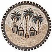Bedouin Hut Art Print