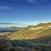 Belgodere In Corsica Art Print