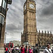 Big Ben London Art Print by Donald Davis