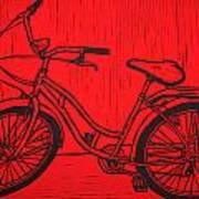 Bike 5 Art Print by William Cauthern