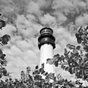 Bill Baggs Lighthouse Art Print