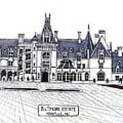 Biltmore Estate Art Print by Frederic Kohli