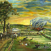 Bleeding Kansas - A Life And Nation Changing Event Art Print