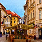 Bratislava Old Town Art Print