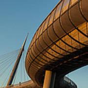 Bridges In The Sky Art Print