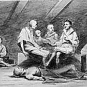 British Prison Ship, 1770s Art Print