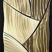 Broken Gold Art Print