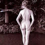 Nude Bum in Jack Creek Art Print