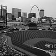 Busch Stadium Saint Louis Mo Art Print