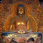 Byodo In - Amida Buddha Art Print
