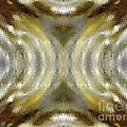 Cafe Au Lait Kaleidoscope Art Print